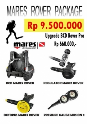 BCD SET MARES ROVER  large