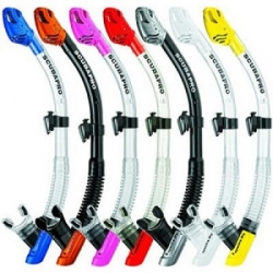 large ScubaPro Spectra Semi Dry Snorkel for 2014 Big 6