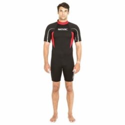 large Wetsuit Seac Relax Short Man 22mm