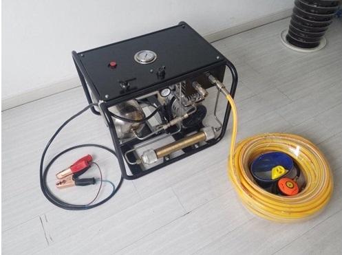 Compressor Hookah E Accu System Oil Free