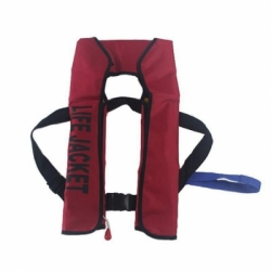 automatic inflatable life jacket drifing and fishing life vest rescue co2 lift jacket vest  large