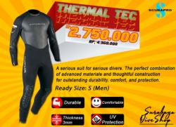obral scubapro thermal tec  large